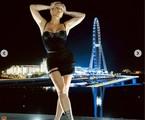 Cleo posa em Dubai | Reprodução