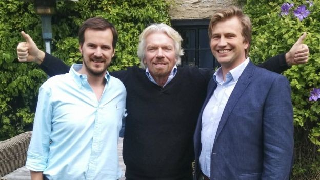 Richard Branson, fundador da Virgin, investiu na TransferWise em 2014 (Foto: TRANSFERWISE via BBCNews Brasil)