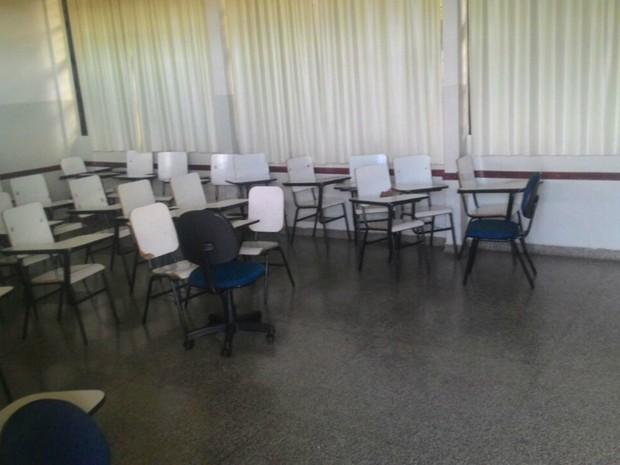 Segundo assessoria da UEMS, alunos não causaram nenhum dano (Foto: Assessoria UEMS/Divulgação)