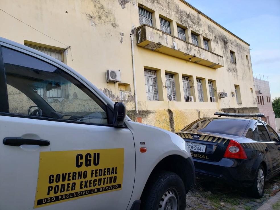 Oitava fase da Operação Calvário investiga desvio de dinheiro por meio de jogos de aposta, na Paraíba — Foto: Divulgação/PF-PB