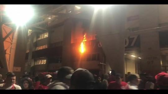 Inter identifica envolvidos em confusão no Beira-Rio após final e encaminha imagens à polícia