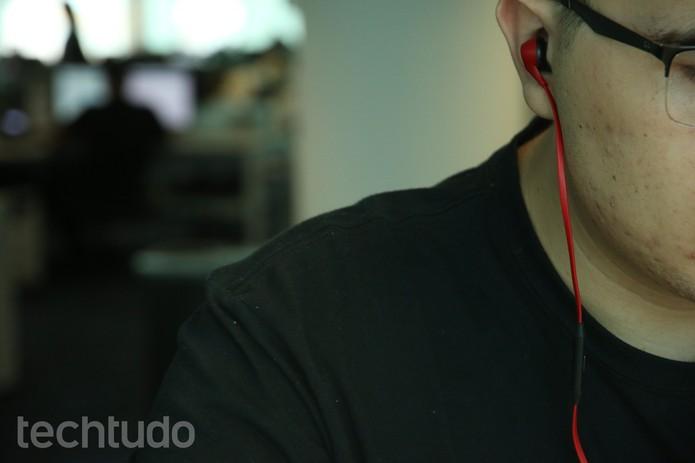 HyperX Cloud Earbuds (Foto: Yuri Hildebrand/TechTudo)