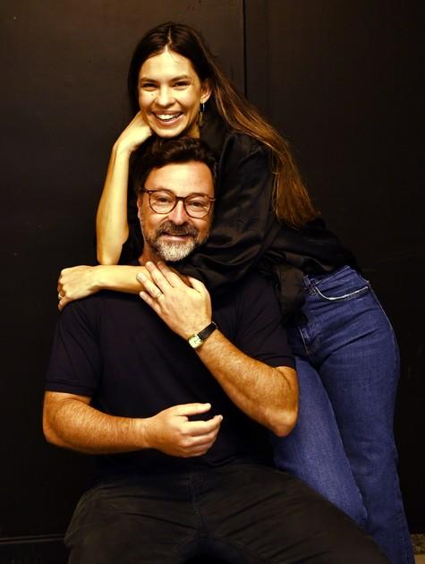 Emilio Orciollo Netto com a mulher, Mariana Barreto Orciollo (Foto: Cristina Granato)