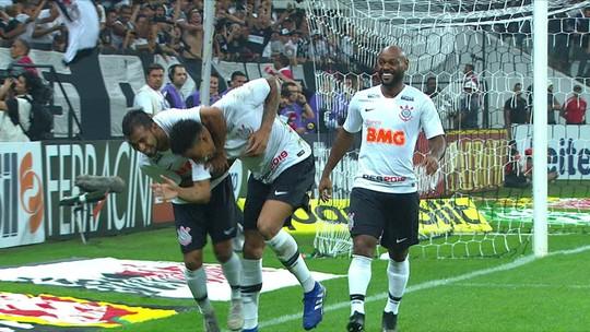 Assista aos gols de Corinthians x São Paulo