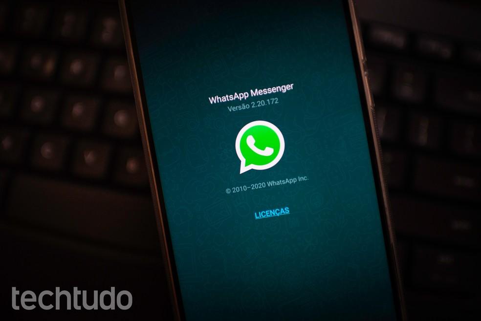 Pagamento via WhatsApp chega no Brasil; entenda a nova função — Foto: Rubens Achilles/TechTudo