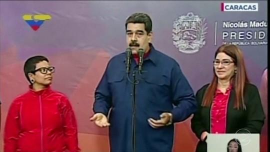 Maduro diz que governo venceu em 90% das prefeituras disputadas na Venezuela