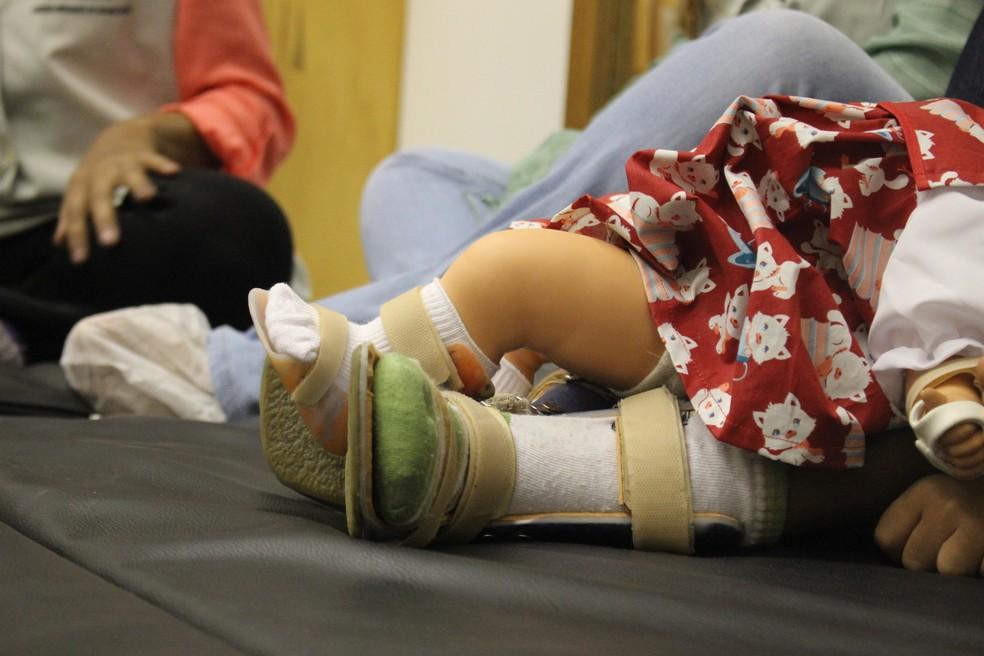A boneca Lili. — Foto: Andrê Nascimento