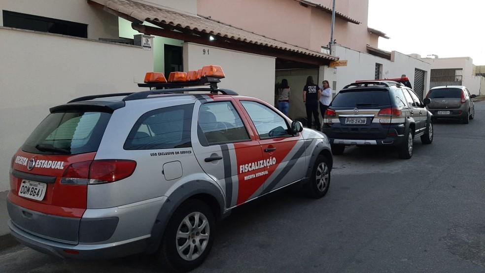 Operação foi realizada nesta manhã — Foto: MPMG/Divulgação