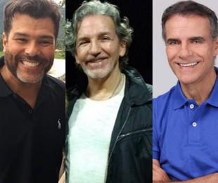 Mauricio Mattar, Marcello Picchi e Mário Gomes   Reprodução