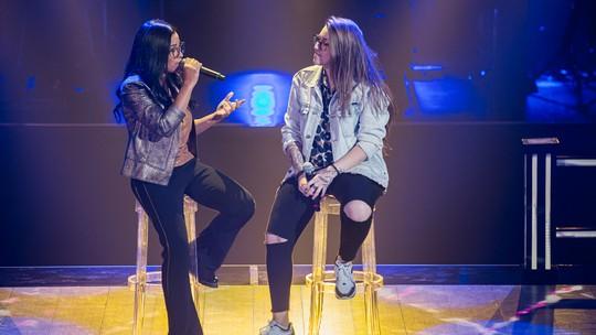 Larissa Mendes e Luana Berti cantam poesia de Vinicius de Moraes nas Batalhas do 'The Voice'