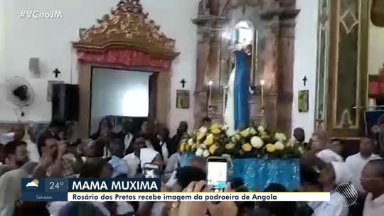 'Mama Muxima;': Igreja do Rosário dos Pretos recebe a imagem da padroeira de Angola