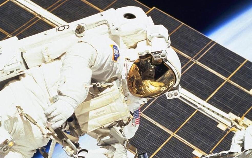 Experiência é reveladora, afirmam os astronautas  (Foto: NASA)