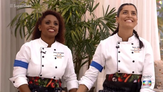 Daiane dos Santos e Maria Joana estão na última Panela de Pressão do 'Super Chef'