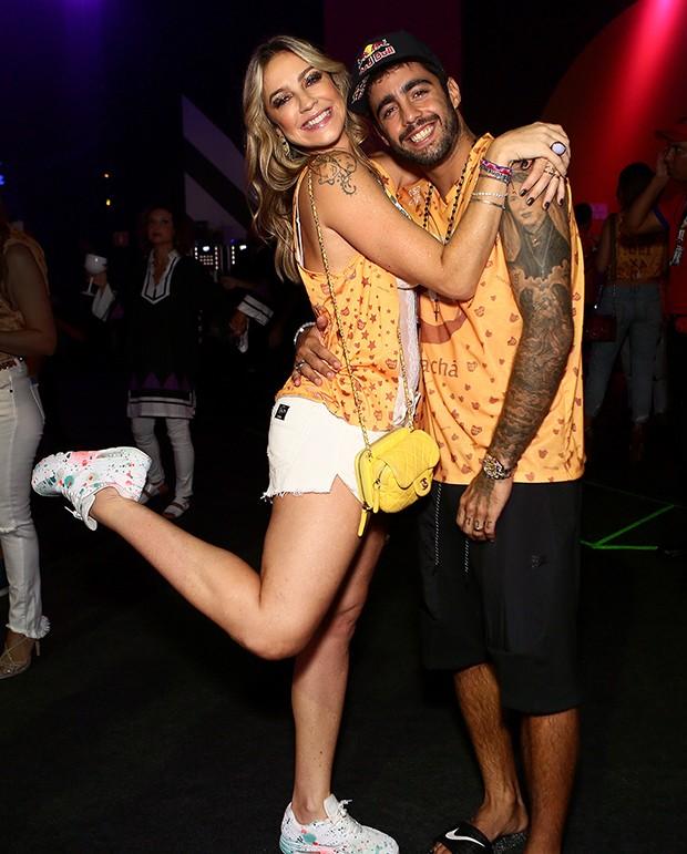 Luana Piovani e Pedro Scooby (Foto: Iwi Onodera/ Brazil News)