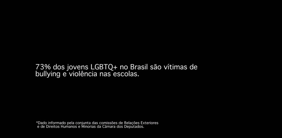 Texto exibido no clipe de 'Indestrutível', de Pabllo Vittar (Foto: Divugação)