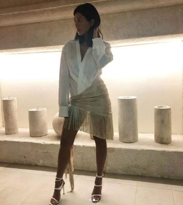 Kourtney Kardashian (Foto: Reprodução Instagram)