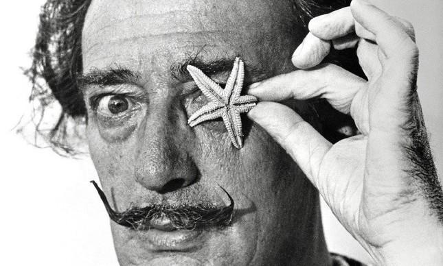 Salvador Dali: imagem da exposição 'Dali, retrato cúmplice'