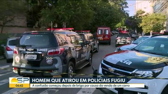 Polícia procura suspeito de balear PMs após briga por carro na Vila Mariana