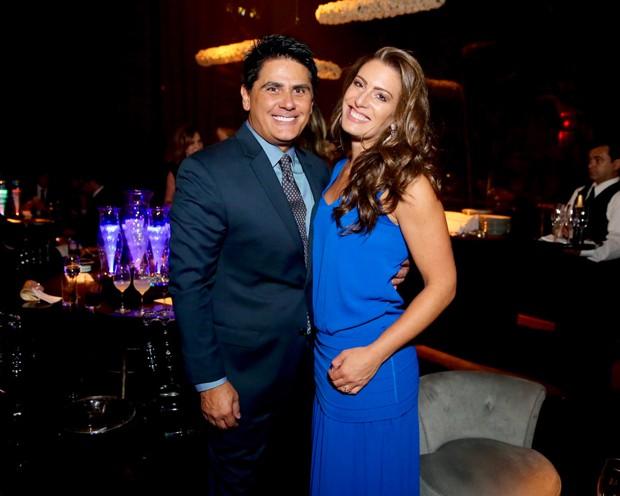 Cesar Filho e Elaine Mickely (Foto: Manuela Scarpa/Brazil News  )