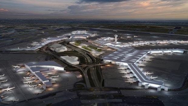 Aeroporto em Nova York vai passar por reforma estimada em R$48 bilhões (Foto: Reprodução)