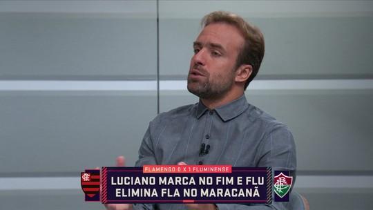"""Roger Flores critica estratégia de Abel Braga no Fla-Flu e elogia Fernando Diniz: """"Mostrou coragem"""""""