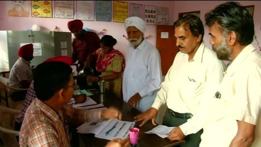 Indianos foram às urnas na última rodada de votação