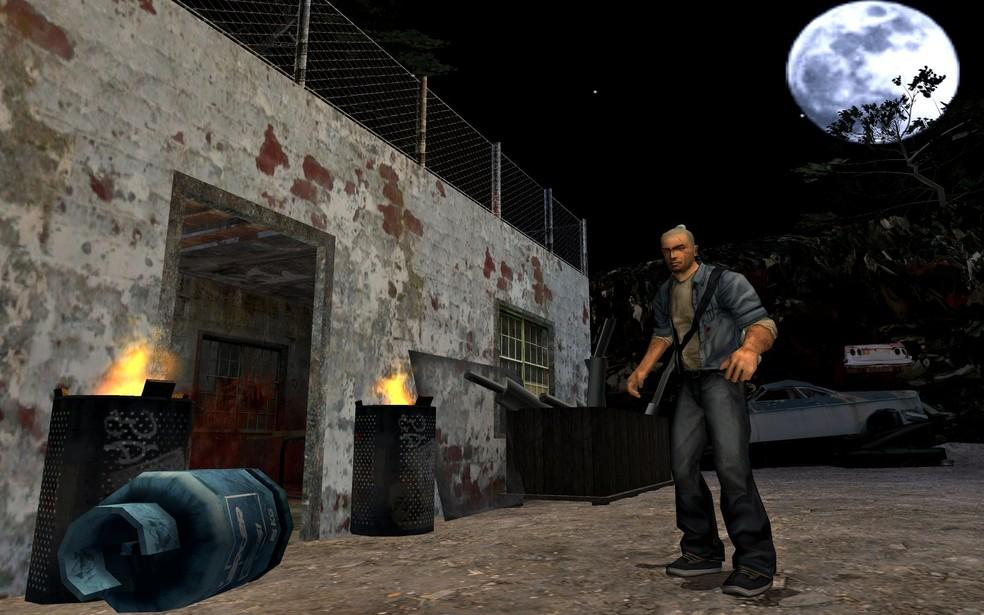 Manhunt, da Rockstar, chocou pela violência (Foto: Divulgação/Rockstar)
