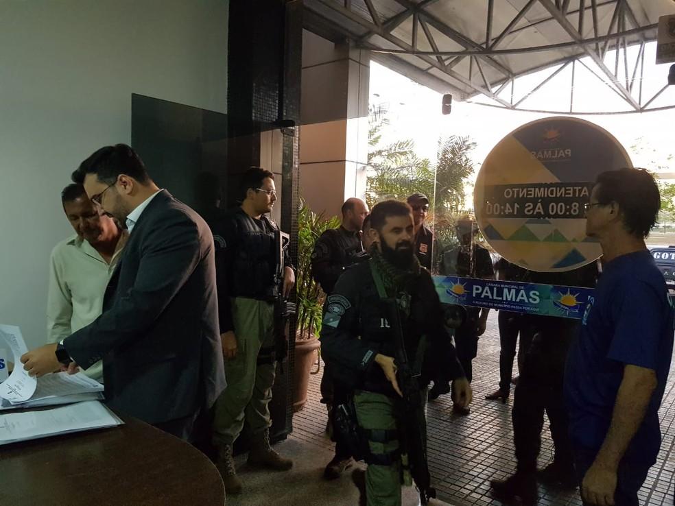 Policiais cumpriram 26 mandados de prisão durante 2ª fase da operação Jogo Limpo (Foto: Werbert Araújo/SSP/Divulgação)