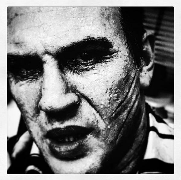 O ator Tom Hardy como o mafioso Al Capone (Foto: Instagram)
