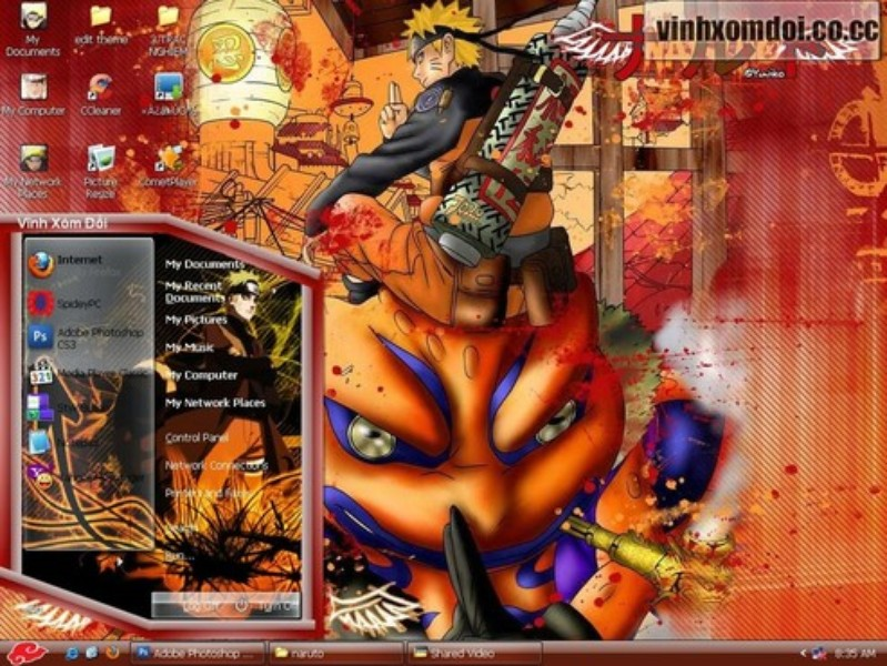 Tema Naruto For XP