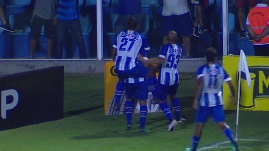 Os gols de Avaí 2 x 2 Goiás pela quarta fase da Copa do Brasil