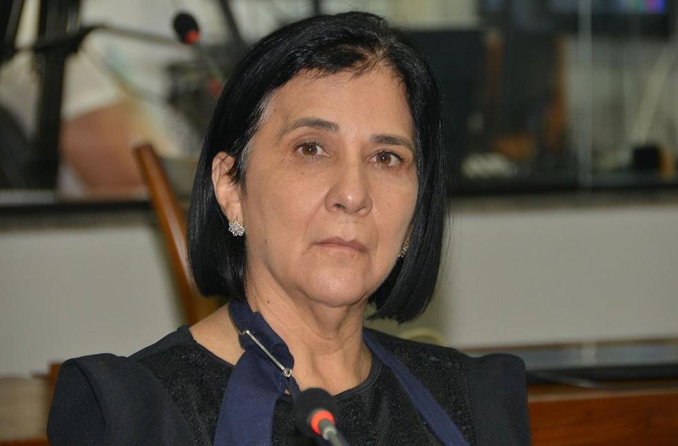 Amália Santana foi reeleita deputada estadual — Foto: Koró Rocha/Assembleia Legislativa
