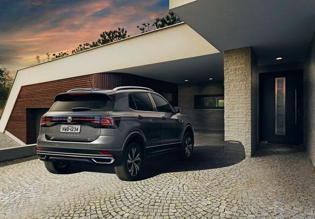 Tecnologia em cada detalhe transforma a experiência do usuário a bordo de um Volkswagen T-Cross (Foto: Divulgação)