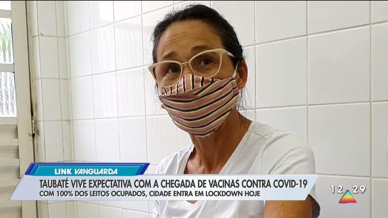 Taubaté vive expectativa para chegada da vacina contra Covid-19