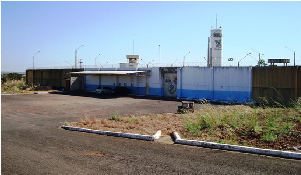 Penitenciária Major PM Zuzi Alves Da Silva - Água Boa — Foto: Sesp-MT