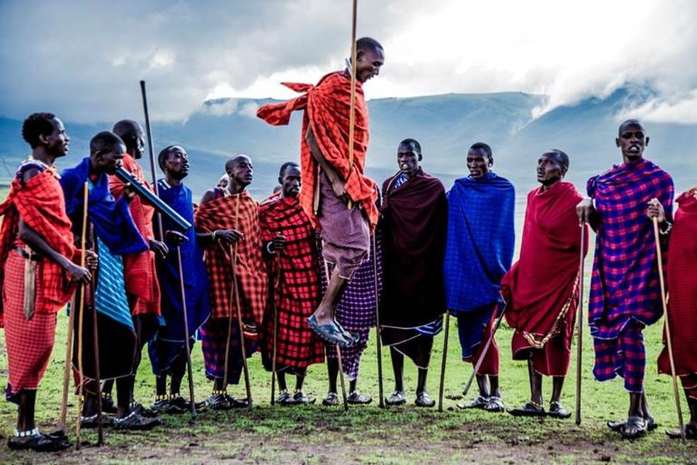 Exposição do fotógrafo Glad Macedo reúne imagens da Costa Leste Africana após expedição que ele fez na Tanzânia  — Foto: Glad Macedo/Divulgação