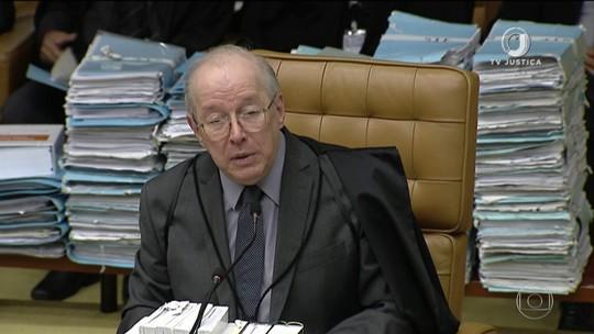 Ministro Celso de Mello vota no julgamento sobre compartilhamento de dados fiscais