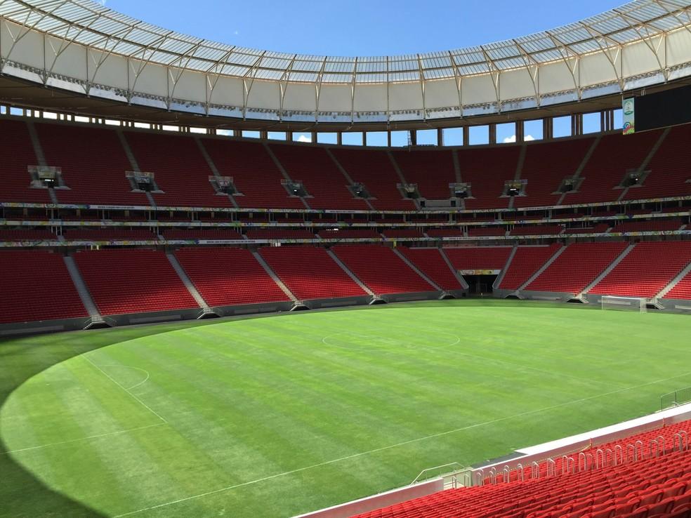 Mané Garrincha, Estádio, Brasília, 2016 — Foto: Lucas Magalhães