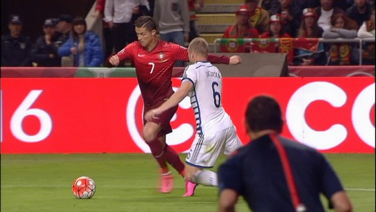 Cristiano não marca, mas Portugal  bate Dinamarca e está na Eurocopa