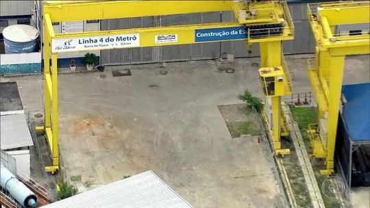 Governo do RJ vai inundar buraco de obra do metrô