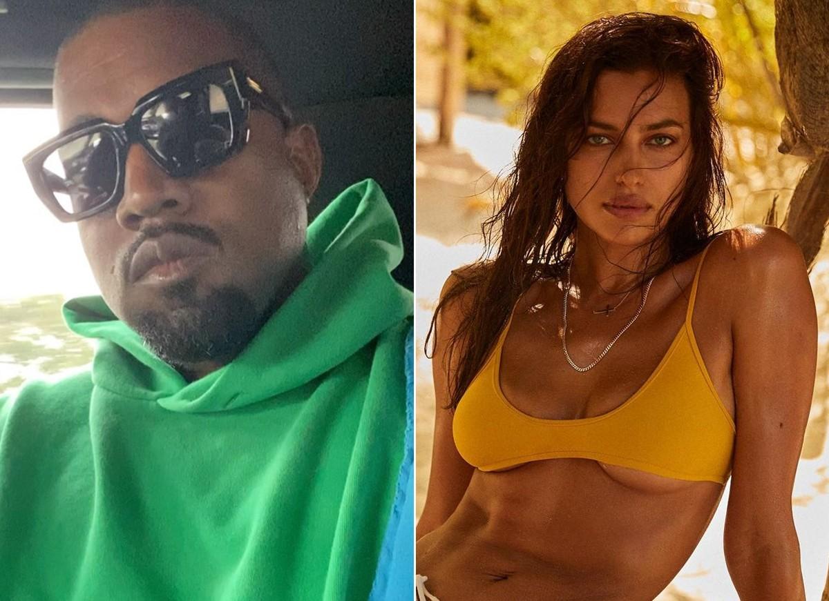 Shyk irina Kanye West