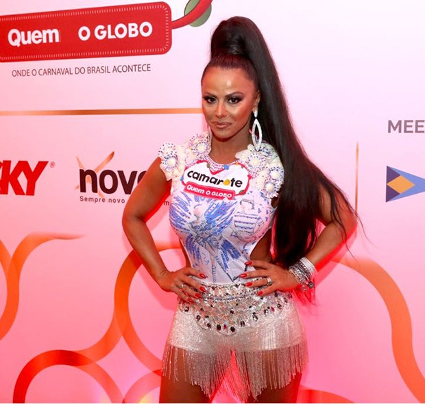 Viviane Araújo (Foto: Daniel Janssens/ Ed.Globo)