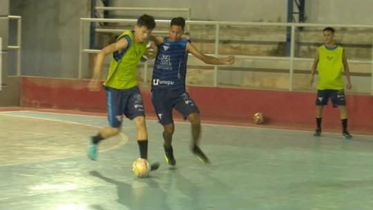 Sonho alto: treinador e jogadores do Vivaz-RR falam em levar título da Taça Brasil de Futsal Sub-17