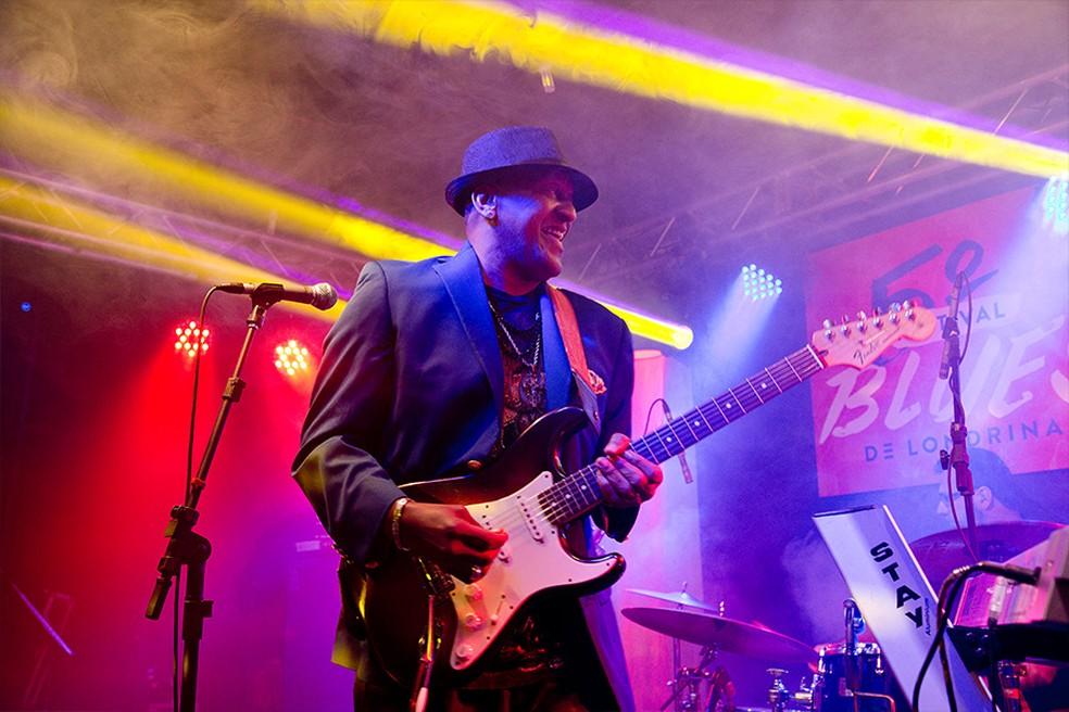 Kenny Brown abre o 8º Festival de Blues de Londrina, na quarta-feira (1°) (Foto: Festival de Blues/Divulgação)