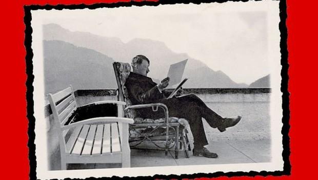 Apesar de promover imagem frugal junto à sociedade alemã, Hitler amealhou fortuna com direitos autorais de seu livro Minha Luta (Foto: Getty Images via BBC)
