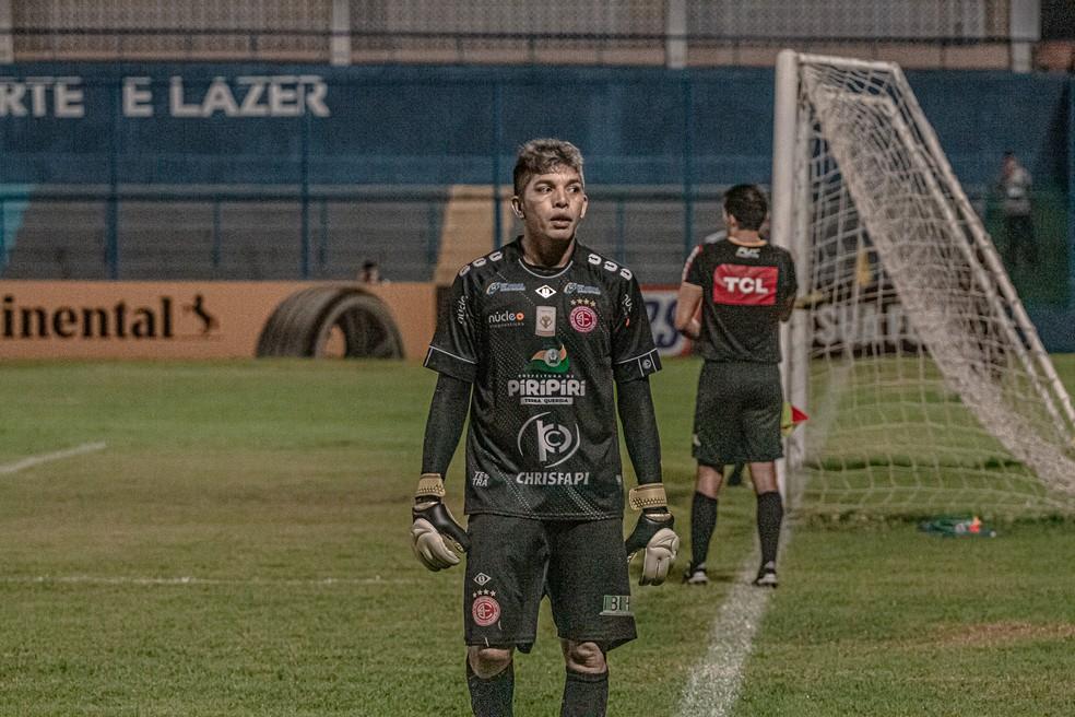 Goleiro Jaílson  — Foto: Aldo Carvalho