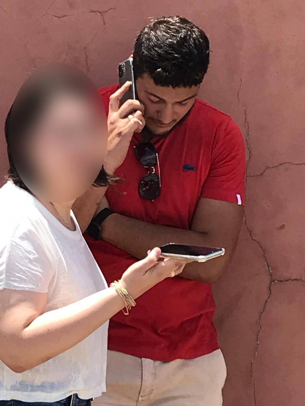 Wesley Patrick VillasBoas de Souza, 23 anos, foi preso suspeito de atropelar e matar 2 crianças em Cuiabá — Foto: TV Centro América/Reprodução