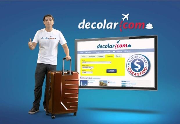 Anúncio da Decolar.com (Foto: Reprodução/YouTube)