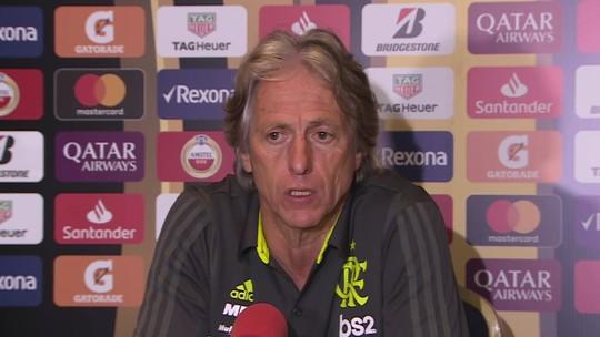 """Prestes a estrear na Libertadores com Flamengo, Jorge Jesus elogia torneio: """"Também é Champions"""""""