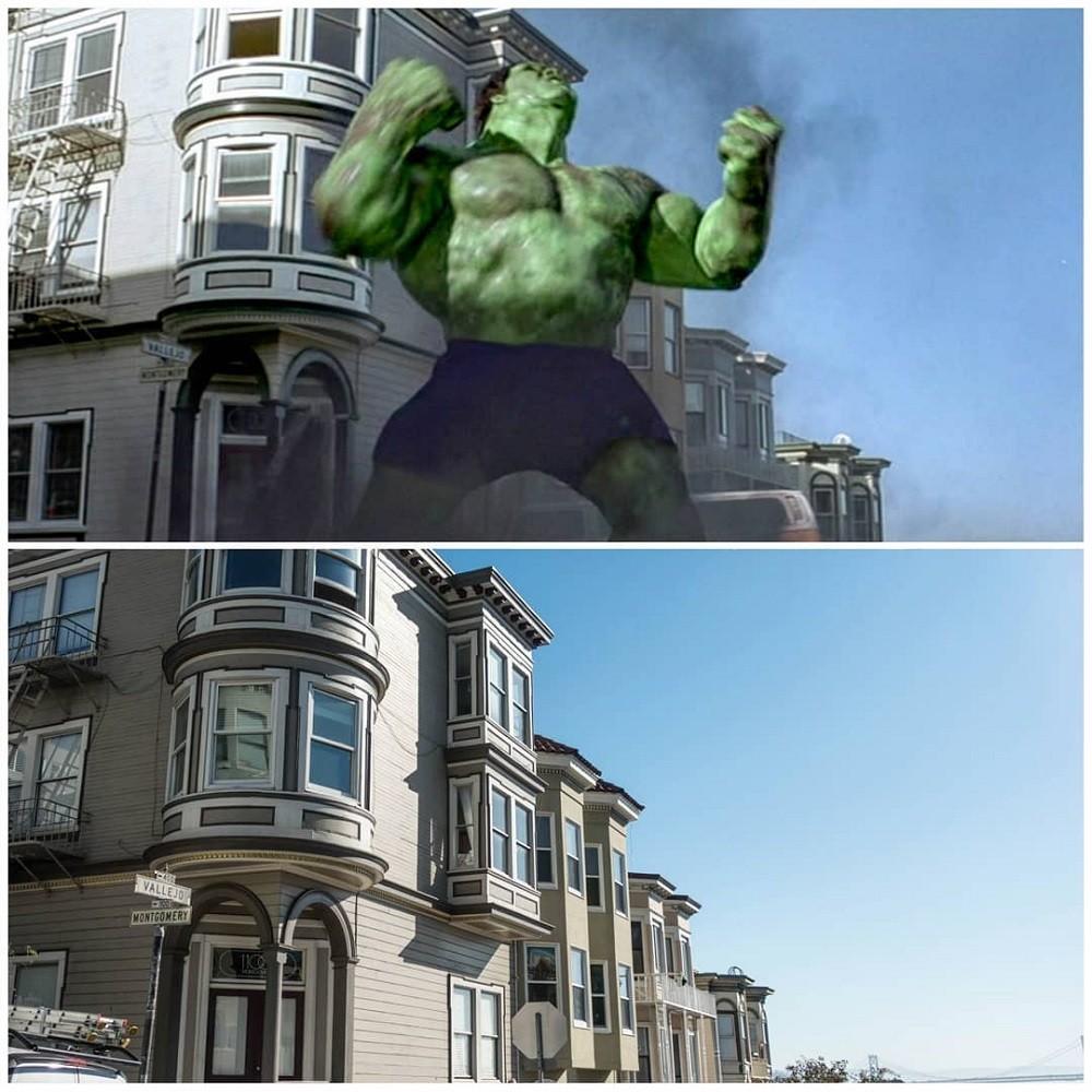 Hulk. São Francisco, Califórnia, Estados Unidos. Setembro de 2018.  (Foto: Steve Peterson/Reprodução)